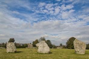 Standing Stones at Avebury henge | (C) Chris Hall 2016