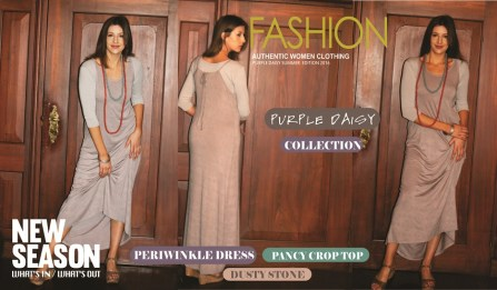 18 - Periwinkle Dress - Dusty Stone d