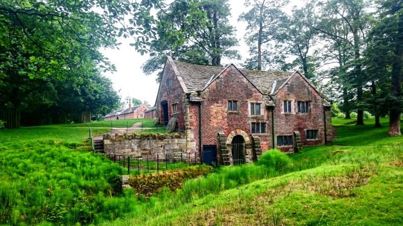 The watermill at Dunham Massey, Cheshire