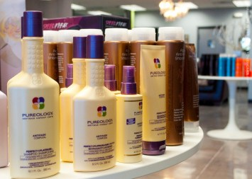 Products at Glow Salon