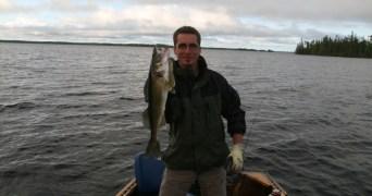 23 inch Walleye (Photo by Peter Greff)