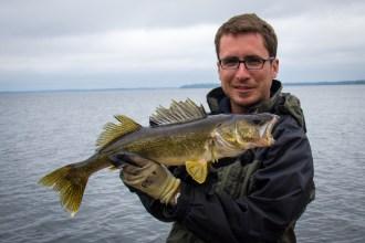 """25"""" Walleye (Photo by Paul Greff)"""