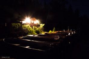 Main dock at night