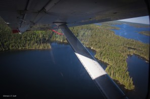 Flight in to Esnagami