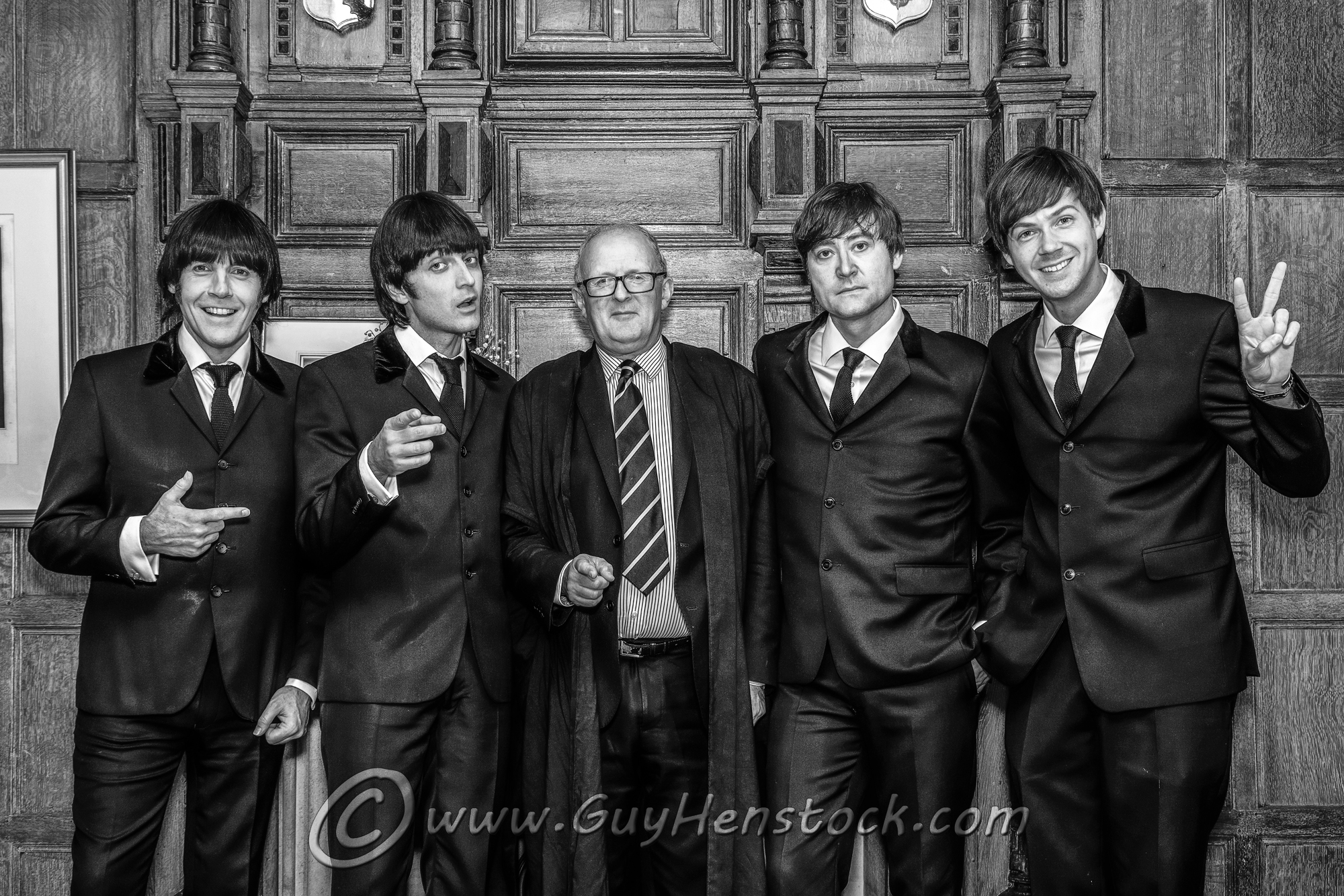 Beatles tribute act Let It Be at Brasenose College