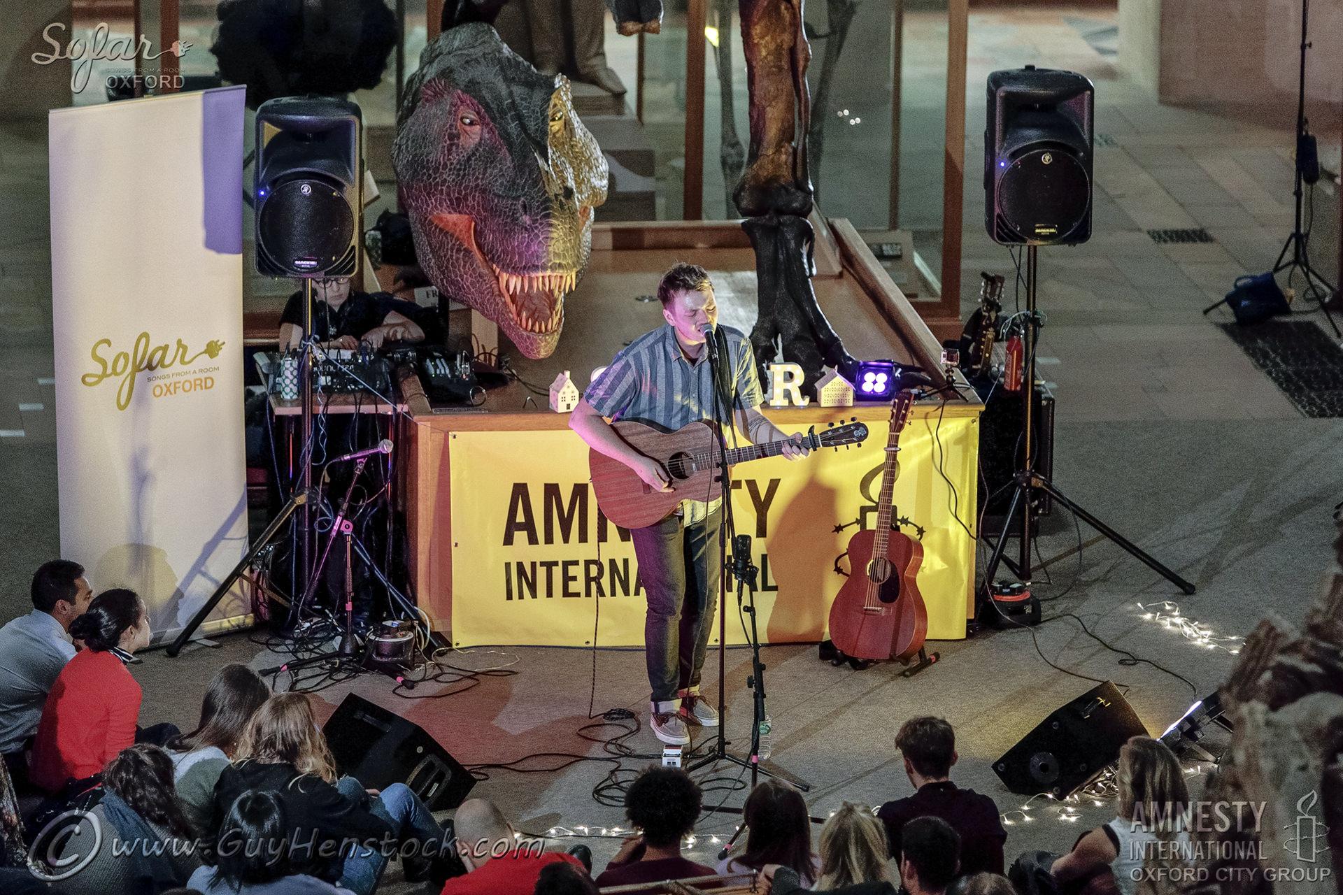 Lewis Watson - Give a Home - Sofar Amnesty benefit gig