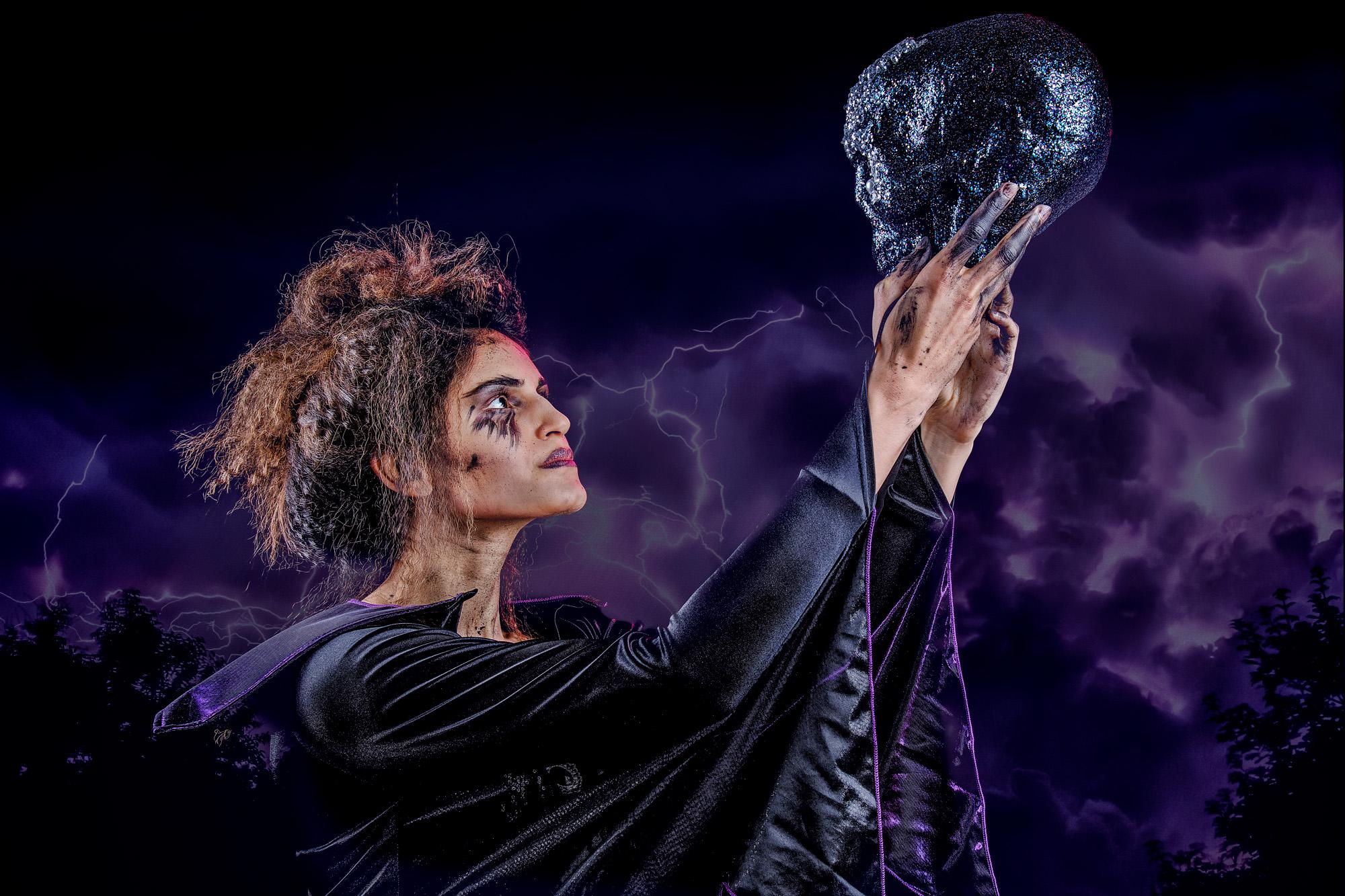 Lavanya Chowdhury -Oxford Atelier's Halloween Open Studio Evening