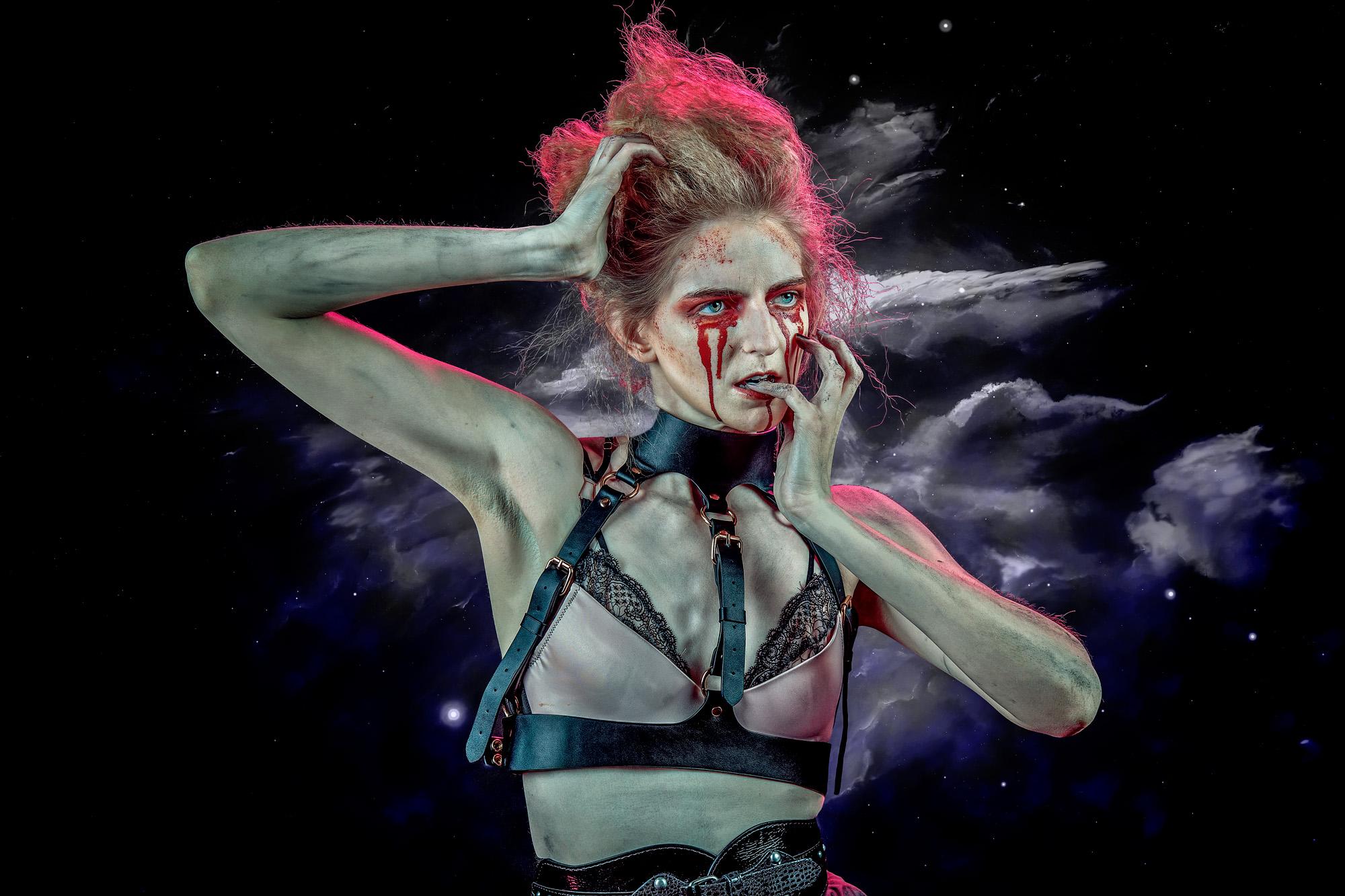 Becky Golder - Oxford Atelier's Halloween Open Studio Evening
