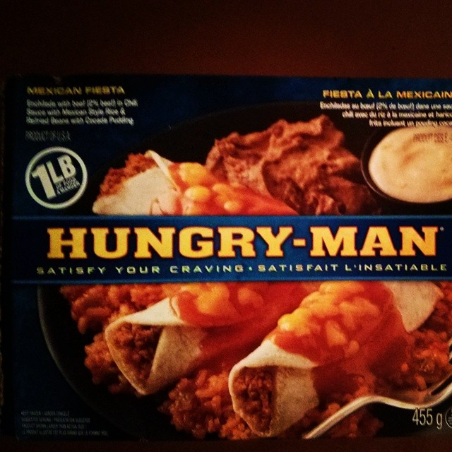 a photo of a hungry man mexican fiesta box