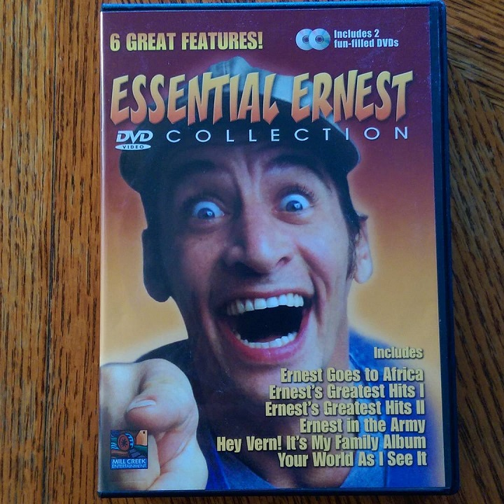 photo of the essential ernest dvd collection