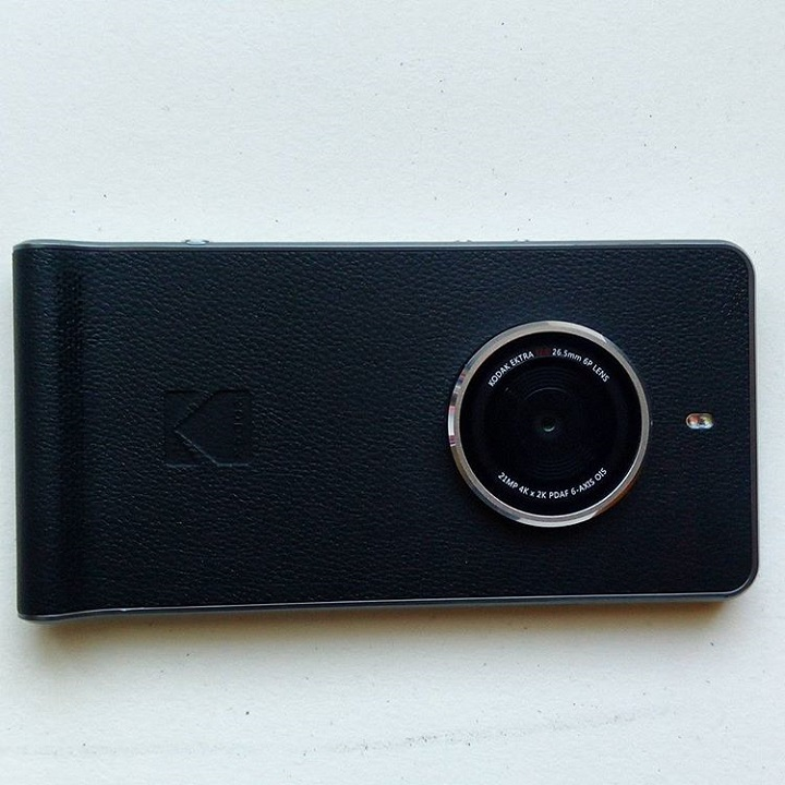 a photo of a kodak ektra cellphone