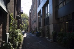 Laneway in Pioneer Square area of Seattle