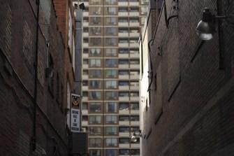 'Alley light' - Copyright Toronto Photographer Ardean Peters