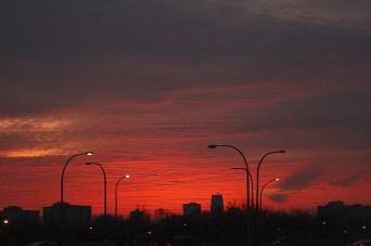 sunrise - Copyright Toronto Photographer Ardean Peters