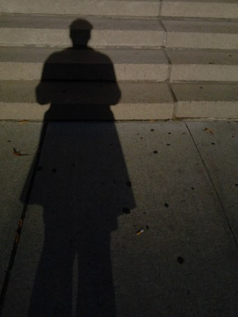Took a picture of my shadow