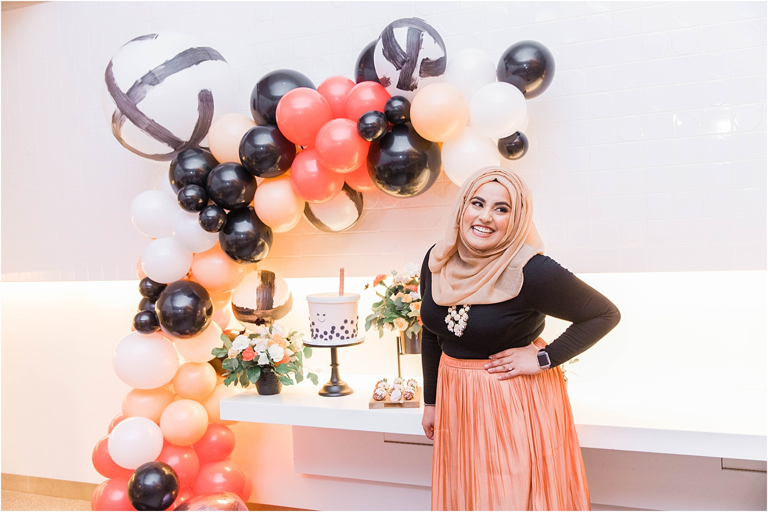 My 25th Bubble Tea Themed Birthday Party Photography By Azra