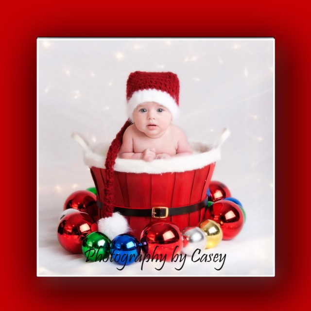 Baby Santa Portrait
