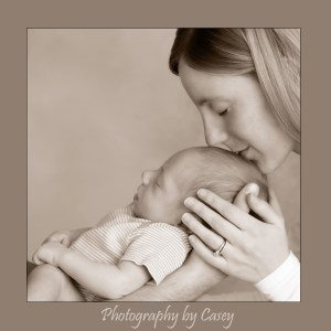 Baby and mother photography