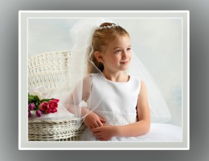 First Communion Photograph