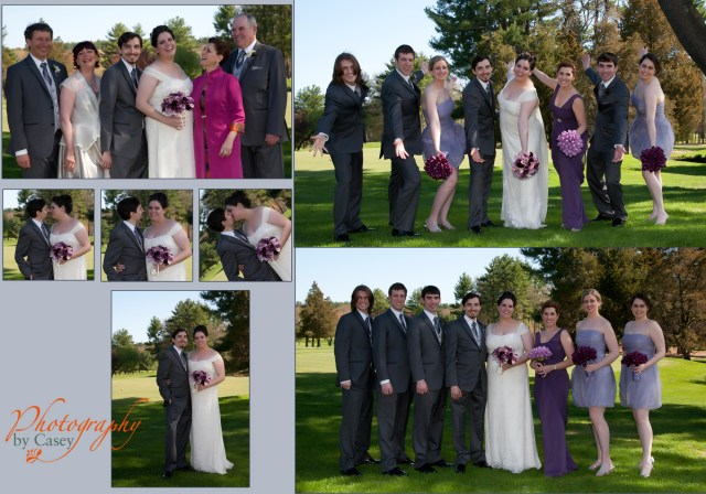Wedding Photographer Spring Valley Country Club Sharon MA