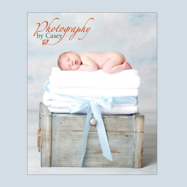 newborn sleeping baby photography