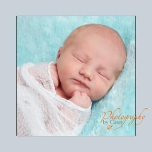 Swaddled Newborn Baby
