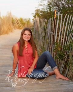 High School Senior Photography on the beach Wrentham MA Photographer
