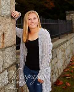 On Location High School Senior Photography Wrentham MA