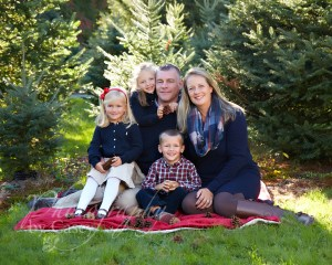 Christmas Photos at Tree Farm