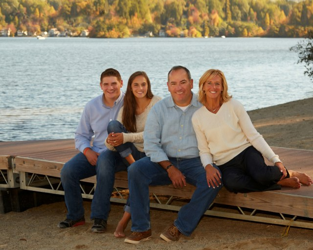 Family Portrait Photography at the Lake