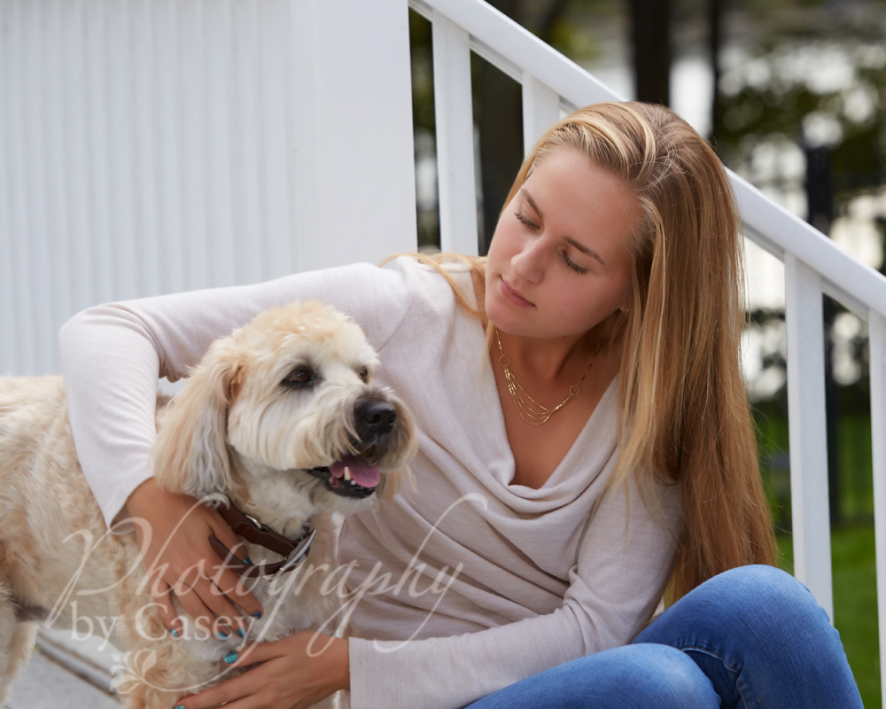 Pet and high school senior photos