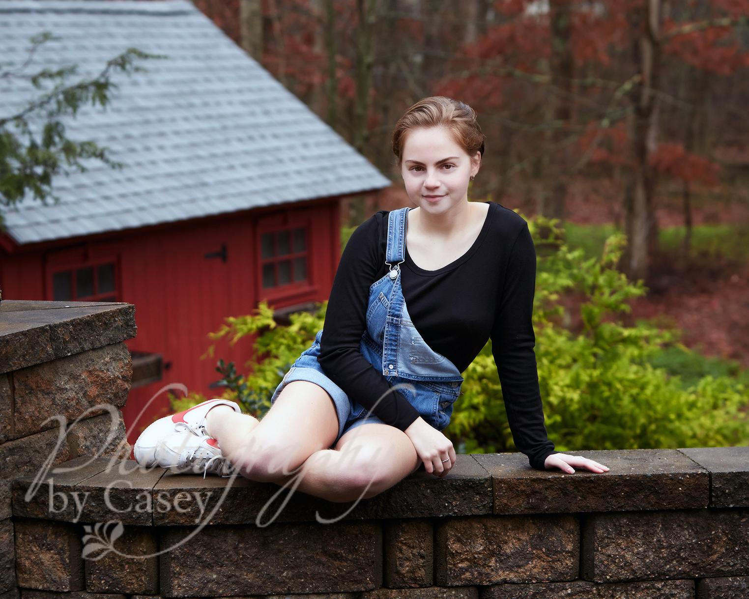 High School Senior Portraits | Attleboro MA | Photography by Casey
