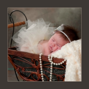 Photography of Newborns with Tutus