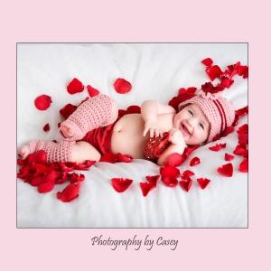 Photographer for Baby's Valentine