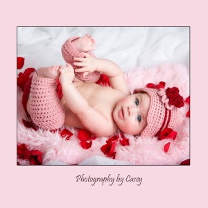 Photographer for Valentine Baby