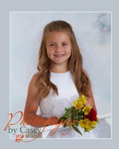 First Communion Portrait