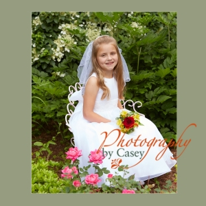First Communion Photography