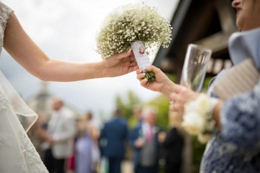 The brides' bouquet