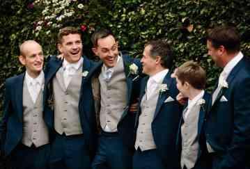 Groomsmen before the wedding
