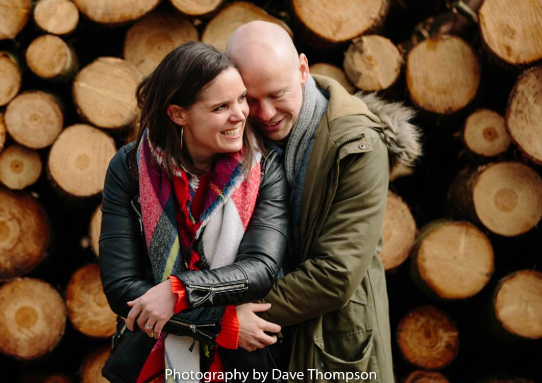 Delamere Forest pre wedding shoot