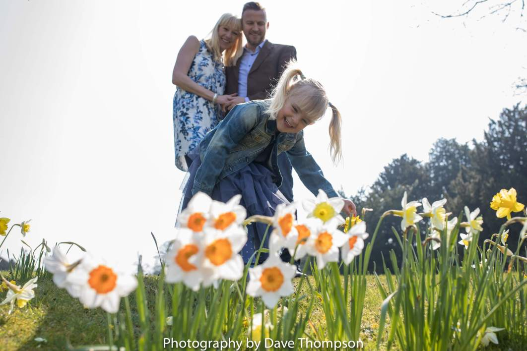 Family shoot also a pre wedding shoot as daughter joins in