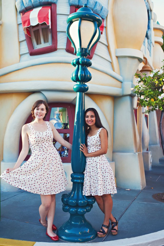 senior session at disneyland