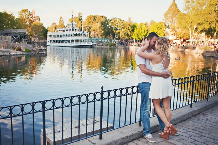 engagement photos at disneyland