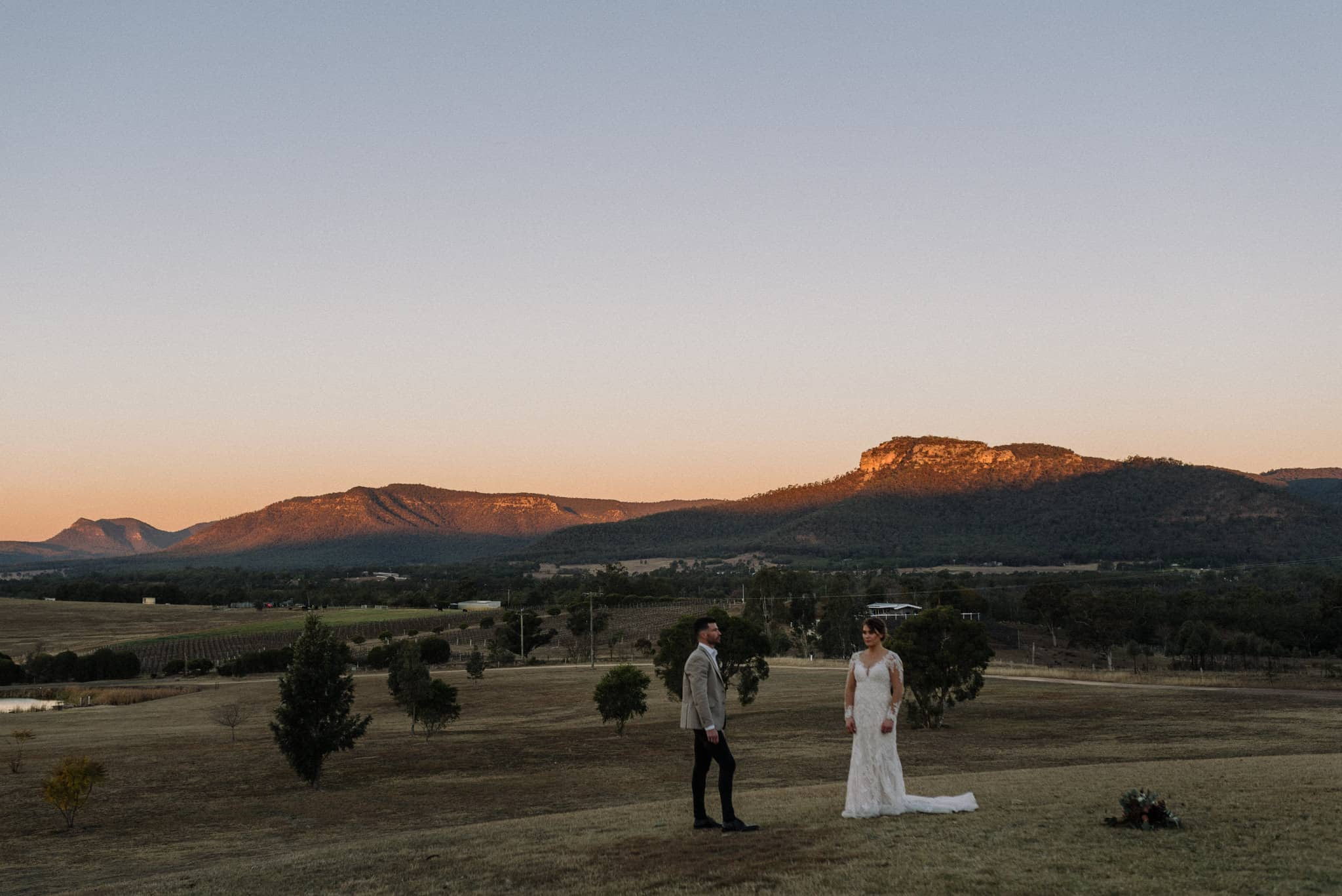 eloping vs wedding, hunter valley is one of the best places to elope, especially in winter