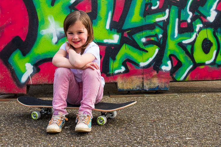Skatebaan Ties en Fien