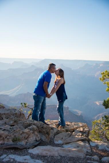 Proposal at the South Rim