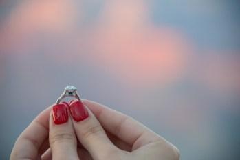 engagement ring at Grand Canyon