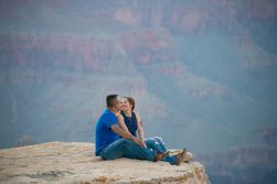 in love at the South Rim