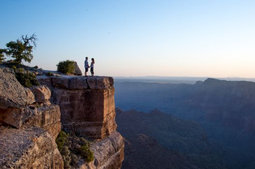 Grand Canyon Proposal photo from a distance