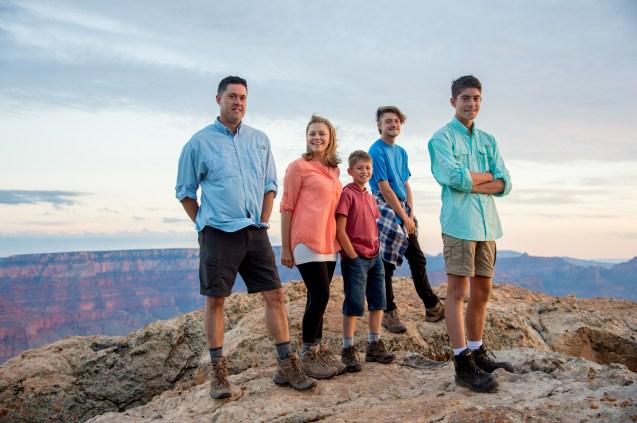 7.29.17 Family Portraits at Grand Canyon South Rim Lipan Point Terri Attridge-123